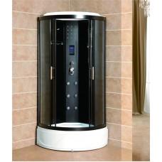 Masāžas  dušas kabīne VENTO ROMA  90x90x220cm