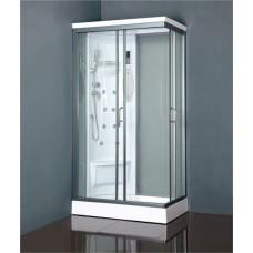 Slēgtā dušas kabīne VENTO BIELLO,  kreisais izpildījums