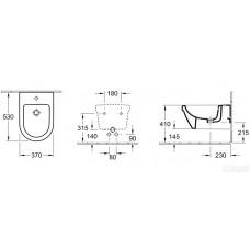 Bidē Architectura Design,53cmx37cm