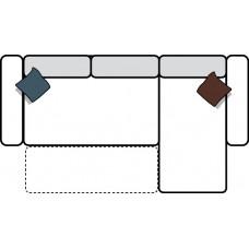 Stūra dīvāns DALLAS