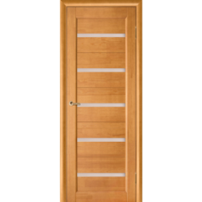 Koka masīva durvis   Vega5 STIKLOTAS